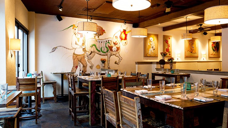 Indulge in Latin American-inspired flavors when dining at The Painted Burro. // © 2015 The Painted Burro
