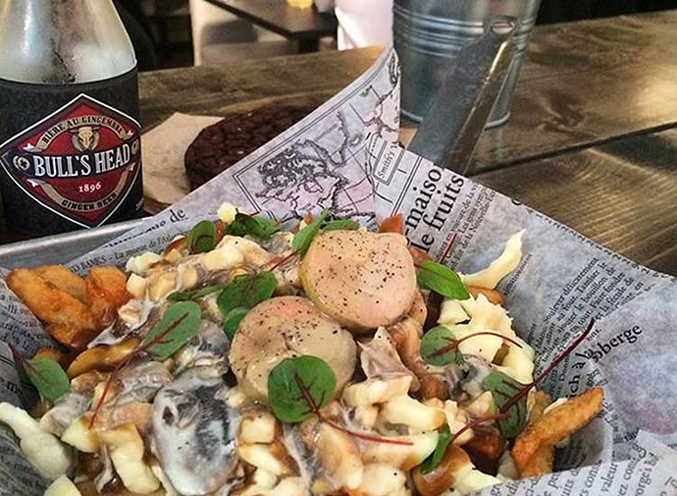 Montreal is a foodie haven, offering ample options for clients who are looking to explore several types of cuisine — including poutine at Chez Jerry. // © 2016 Instagram user @melboudreau