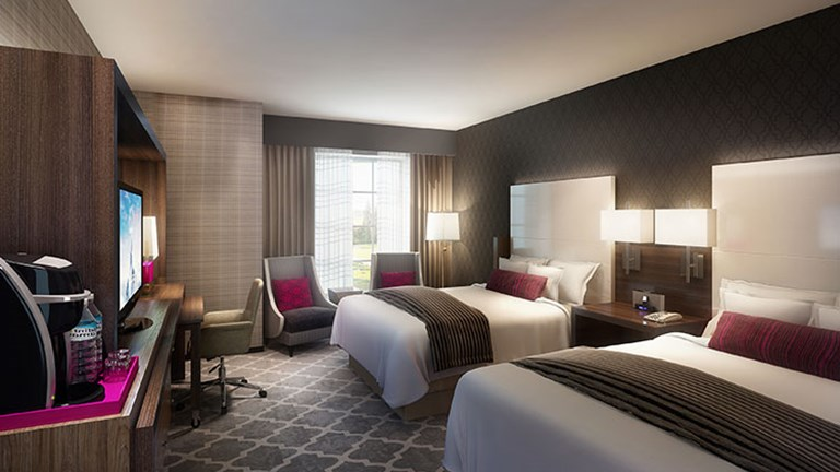 Rooms in The Guest House at Graceland will be modern and comfortable. // © 2016 Graceland.com