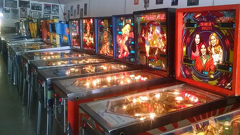 Pennsylvania Coin Operated Gaming Hall of Fame and Museum (Pinball PA) has around 400 games in its collection. // © 2016 Pinball PA