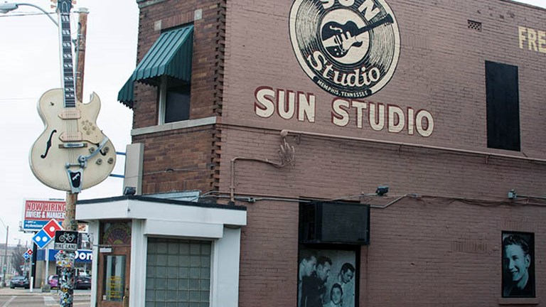 Sun Studio, where Elvis, Johnny Cash, B.B. King and many others recorded under the guidance of Sam Phillips // © 2016 Josephine Parr
