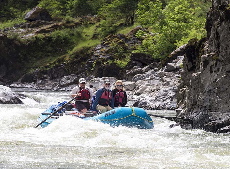 Rafting the Rogue River is one of southern Oregon's largest draws. // © 2017 Creative Commons user blmoregon