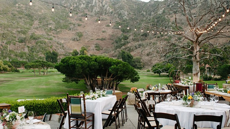 Thanks to its natural setting, The Ranch is popular choice for weddings. // © 2017 The Ranch at Laguna Beach