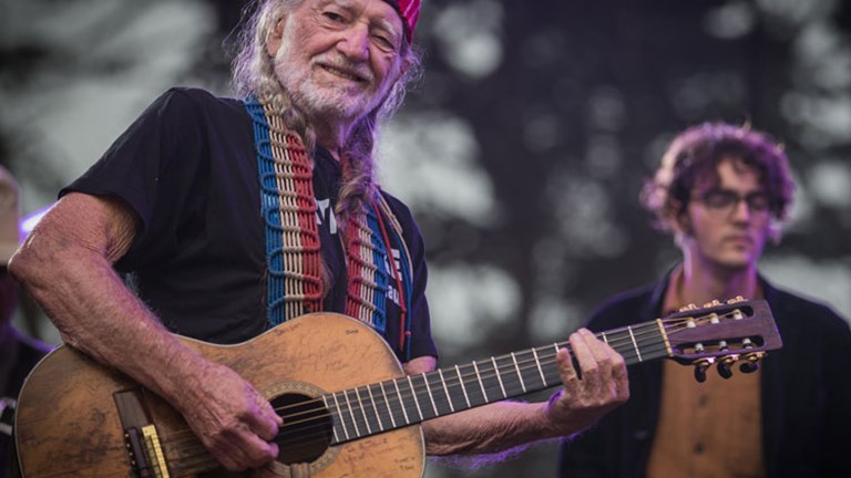 Willie Nelson performed with his son. // (c) Josh Withers