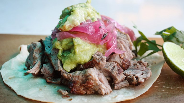 Tasty tacos are aplenty at Sonoritas Prime Tacos, including the above filet mignon version. // © 2016 JC Creative, Inc.