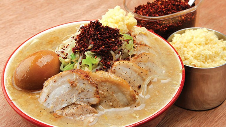 Just across the street from the original Tsujita is Tsujita LA Artisan Noodle Annex, which offers thicker noodles in its ramen broth. // © 2016 Ocean Photo Studio/WANANN, Inc.
