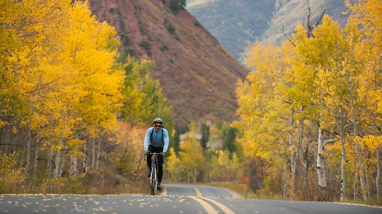 "Being active in nature is part of Aspen's mind-body-spirit philosophy, called the ""Aspen Idea."""