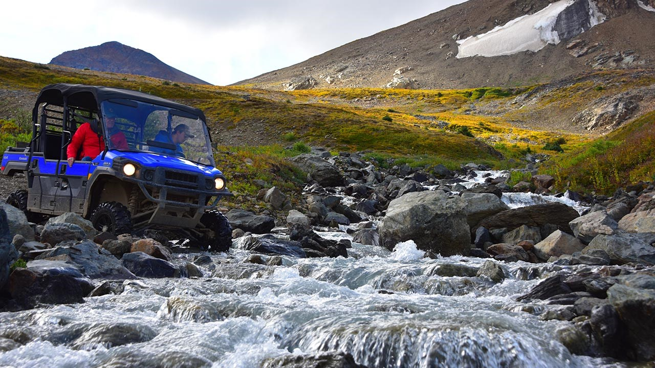5 Southeast Tours offers a daylong ATV tour across the border into Canada that climbs to alpine exploration areas above 5,000 feet.