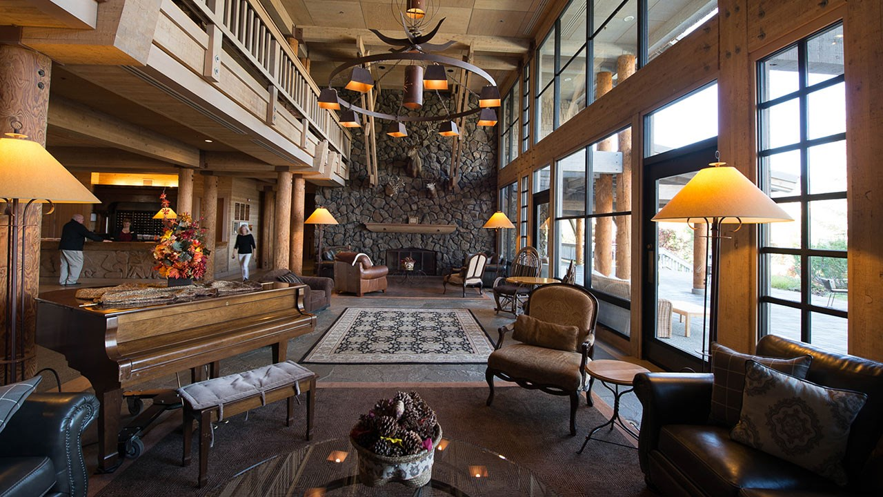A great option for domestic travel this summer, Sun Mountain Lodge is near North Cascades National Park.