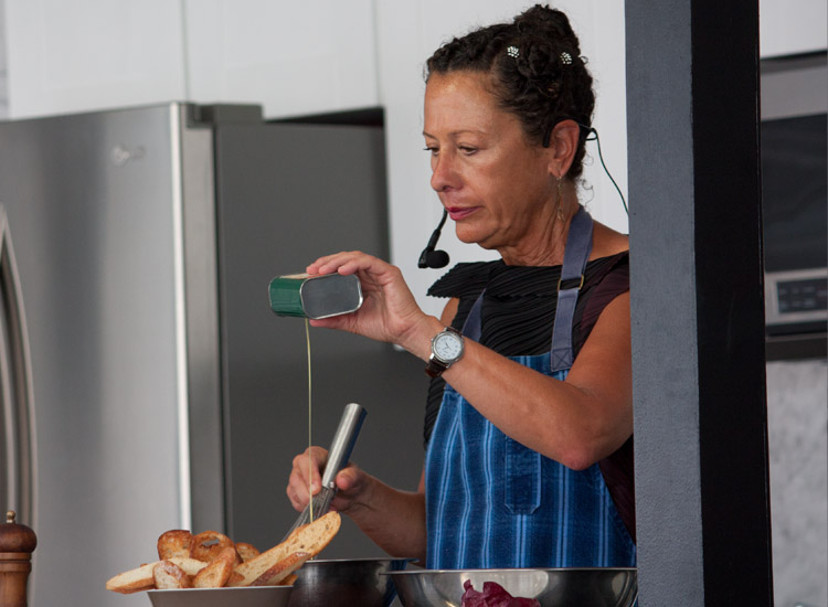 Nancy Silverton, of Pizzeria Mozza, Osteria Mozza and La Brea Bakery // © 2013 Mindy Poder
