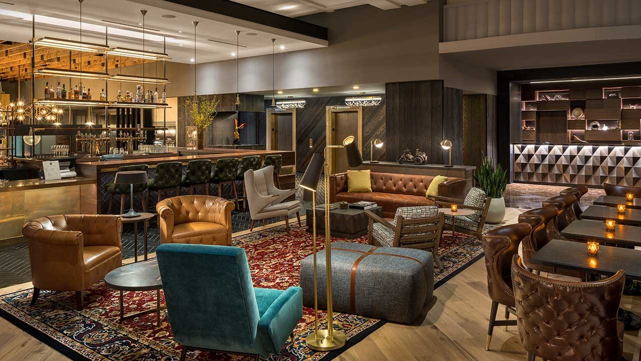 Quirky decor and a laid-back yet luxurious feel give the lobby a definitively Portland vibe.