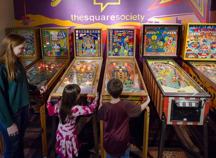 Roanoke Pinball Museum is an attraction located in Roanoke, Va. // © 2016 Roanoke Pinball Museum