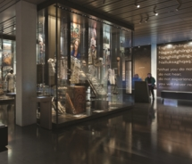 The 10,000-square-foot Smithsonian Arctic Studies Center opens at the Anchorage Museum. // © 2010 Anchorage Museum