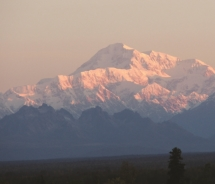 With an Alaska Heritage Tour, guests can get a glimpse of Mount McKinley.  // © 2011 CRI Alaska Tourism Corporation