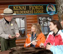 Wildlife and the natural surroundings are huge draws for Kenai Fjords Wilderness Lodge. // (c) 2012 Kenai Fjords Wilderness Lodge