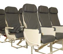 Alaska Airlines' new Recaro-designed seats will be installed on all Boeing 737-900ER aircraft. // © 2012 Alaska Airlines