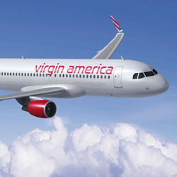 Virgin America is increasing airlift to Anchorage this summer.  // © 2012 Virgin America