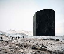 "Sarah Anne Johnson's ""Black Box"" is one of many pieces on display in the Anchorage Museum's new contemporary art exhibition.  // © 2012 Sarah Anne..."