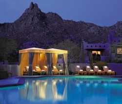 The pool at the Four Seasons Resort Scottsdale // (c) 2010 Four Seasons
