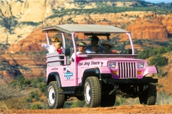 Canyon West Tour // (c) 2010 Pink Jeep Tours