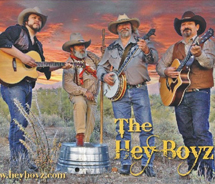 The Bluegrass in the Park Festival will celebrate its seventh year with free performances by The Hey Boyz and others. // © 2012 Bluegrass in the Park...