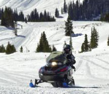 Snowmobiling in Grand Lake, Colo. // © 2011 Grand Lake Chamber