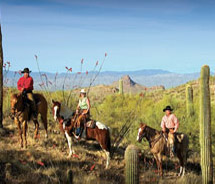 Couples' horseback rides are available // (c) 2011 Ranch De Los Caballeros