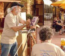Painters at the Sedona Plein Air Festival // © 2010 Sedona Plein Air Festival