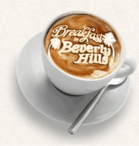 Breakfast in Beverly Hills Logo // (c) 2009