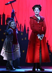 Mary Poppins is now playing at the Ahmanson Theater // (c) 2009