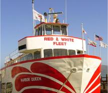 Red and White Fleet's Harbor Queen. // © 2011 Red and White Fleet