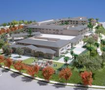 A model of the new Hilton Carlsbad Oceanfront Resort & Spa, scheduled to open next year. // c 2011 Hilton Hotels Worldwide