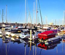 Visitors can learn to sail in Marina del Rey // (c) 2011 Marina del Rey Convention & Visitors Bureau