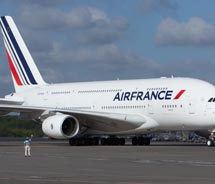 Air France has a new flight from Paris to LAX on the A380. // c 2011 Air France
