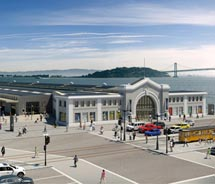 San Francisco's Exploratorium will have a new home on Pier 15. // (c) 2013 Exploratorium