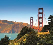 The Golden Gate Bridge turns 75 this month. // (c) 2012 San Francisco Travel Association