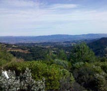 Maggie's Peak is a popular hiking spot in Napa Valley. // c 2012 The Land Trust of Napa County