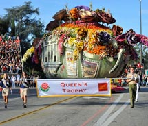 Pleasant Holidays has a Rose Parade package. // (c) 2012 Tournament of Roses