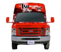 Starline tours introduces the new TMZ Hollywood tour // © 2011 Starline Tours