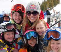 Ski Girls Rock program // © 2011 Vail Resorts