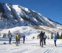 Thanksgiving training camp with the Crested Butte Nordic Council // © 2011 Crested Butte Nordic Council
