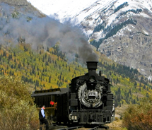 Clients can travel through Colorado by rail // © 2011 Colorado Tourism Office