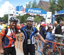 The finish at Breckenridge // © 2012 USA Pro Cycling Challenge