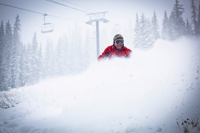 Wolf Creek is the first Colorado ski resort to open this winter // © 2011 Doug Chapin