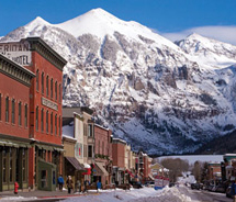 It is now easier to reach Telluride with new Allegiant flights. // © 2012 Telluride Mountain Resort