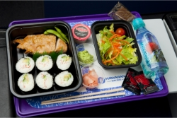 Ono Bistro Meal on Hawaiian Airlines // (c) 2009