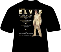 Limited edition Elvis Presley t-shirt // (c) 2011 Pacific Historic Parks