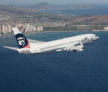 Air seats to Hawaii are predicted to grow 6.8 percent in 2013 // (c) 2013 Alaska Airlines