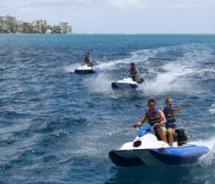 Waikiki Ocean Club launches Aqua Quads // (c) 2012 Waikiki Ocean Club