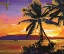The Peter Max Gallery has opened at the Shops at Wailea // © 2011 Peter Max Gallery